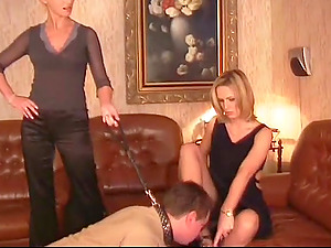 Submitting to beautiful Russian ladies makes his manstick hard