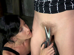 Penny and Elise are having the restrain bondage venture for the very first time