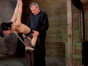 I'll tie you up and give you a treatment that you'll never leave behind!