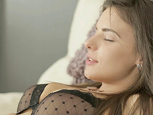 It's time to decorate Gabi's asshole with the gloppy internal cumshot