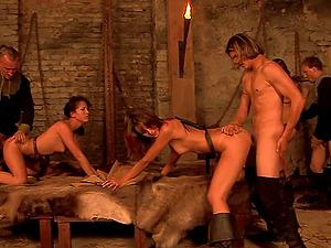Incredible four way lovemaking with hot Terenka