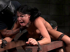 Matt and Jack will give this senorita a Domination & submission treatment she is worth