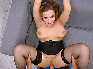 Sexy Natasha Nice attempts to give her fresh paramour a switch roles cowgirl rail