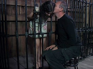 Gorgeous Marina is truly into some kinky Bondage & discipline joy