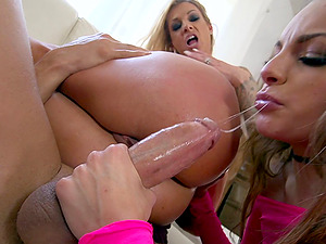 Kimmy and Synthia would like to rail that jizz-shotgun like the maniacs!