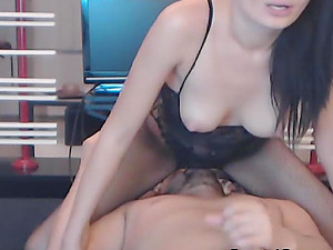 Hot Stunner Gets Her Face Total Of Hot Jizz