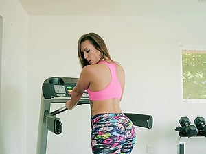 Magnificent Kelsi Monroe is once again bonked in the local gym