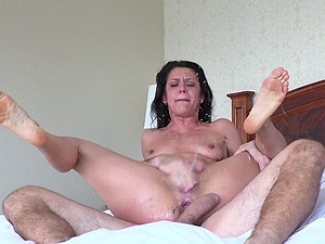 Horny Manuel is once shagging Samia's taut tunnel of love