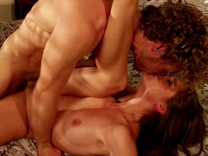 Natural tits diva bellowing while her yummy vulva get fingerblasted
