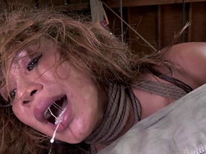 Ava's naughtiness has to be penalized with some rough deepthroating!