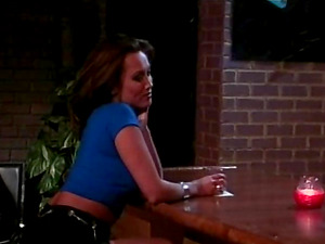 Brown-haired screaming out of pleasure when her buttfuck gets fucked