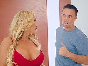 Stunning Tegan James attacked by a randy fellow for a fuck