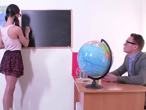 She may not know English, but the universal language says Anastasiya wants dick