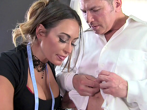 Claudia Valentine is about to have her butthole bashed