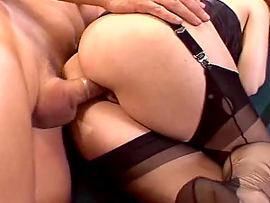 Ginger-haired wifey luvs having joy with another banger