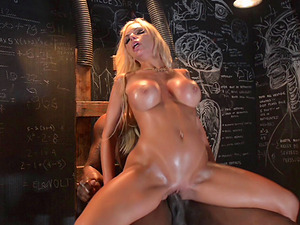 Nina Elle is pleased to be ravished by a black fellow
