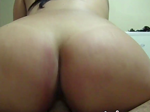 Homemade Point of view gonzo fucking with a horny Latina stunner