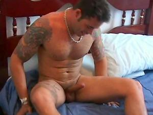 Muscular Latinos love kinky fag romp