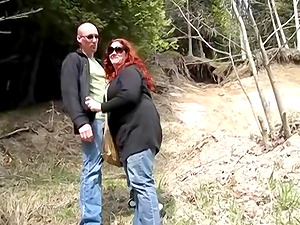 Fat mature woman is nosey about a sweet honey's cunt
