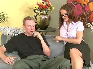 Jennifer Dark the sexy instructor getting fucked hard as she likes