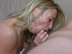 Hot blonde sex bomb Elisabeth Yep wants to taste a cock