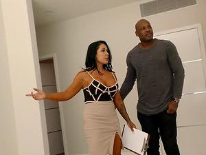 Simone Garza is a cock craving MILF who craves a massive black dick