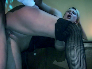Big cock is all a blonde with massive tits wants to play with