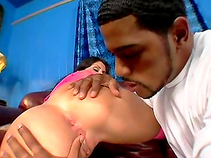 Brian Pumper and Luscious Lopez enjoy awesome anal shagging