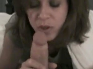 Darcy tyler has her cuckold lick her cum covered feet