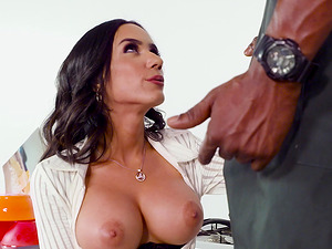 Tia Cyrus enjoys being penetrated by a black lover