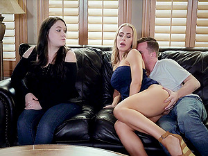 Nicole Aniston fucking the husband of her friend while she's watching