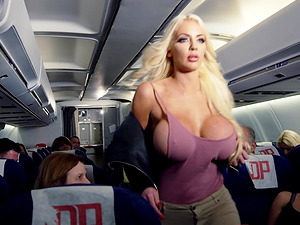 Nicolette Shea is a hot chick with massive boobs who wants to fuck