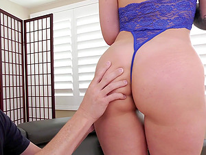 Ivy Lebelle dolls up for a nasty fuck with a horny lover