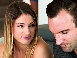 Lea Lexis and Kristen Scott cannot get enough of a man's big penis