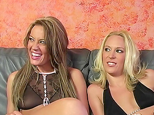 Holly Wellin and Ruth Blackwell cannot get enoug of a big black dick