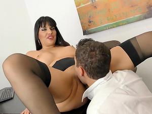 Mercedes Carrera is an elegant slut who cannot resist a cock ride