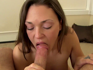 Olivia Wilder is great at making a cock stiff with her lips
