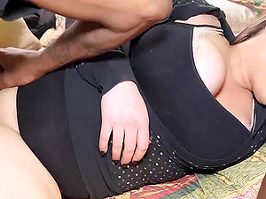 Horny Brunette Milf Knows How To Drain Cock