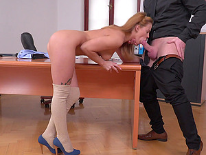Jenny Manson wants to bounce on a lucky hunk's engroged dong