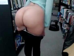 Caught Masturbating In Library