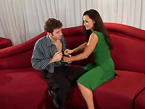 Lisa Ann entices James Deen and fucks him in her plane