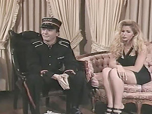 Barbara Doll and Roxanne Hall take part in a role playing game