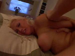 Mom Plower Bangs Experienced Blonde Bi-atch Nicki Hunter