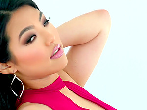 Asian Nari Park is a dirty slut who is an excellent dick sucker