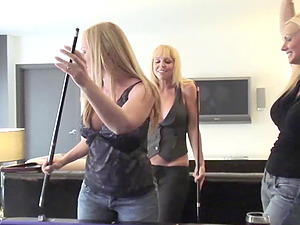 POOL TABLE SEX WITH MY GIRLFRIENDS