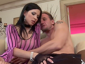 rich girl loves anal and ass to mouth cumshot