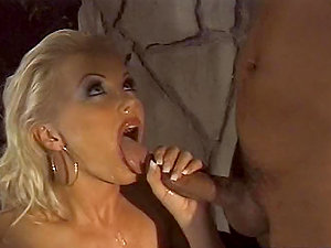 Silvia Saint the promiscuous blonde chick gets her culo fucked deep