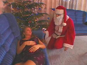 Sexy Rita Faltoyano getting fucked by Santa Claus