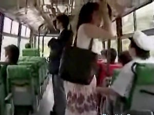a sex prostitute handjob masturbation in BUS