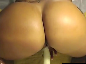 Big ass slut pounded and cummed online